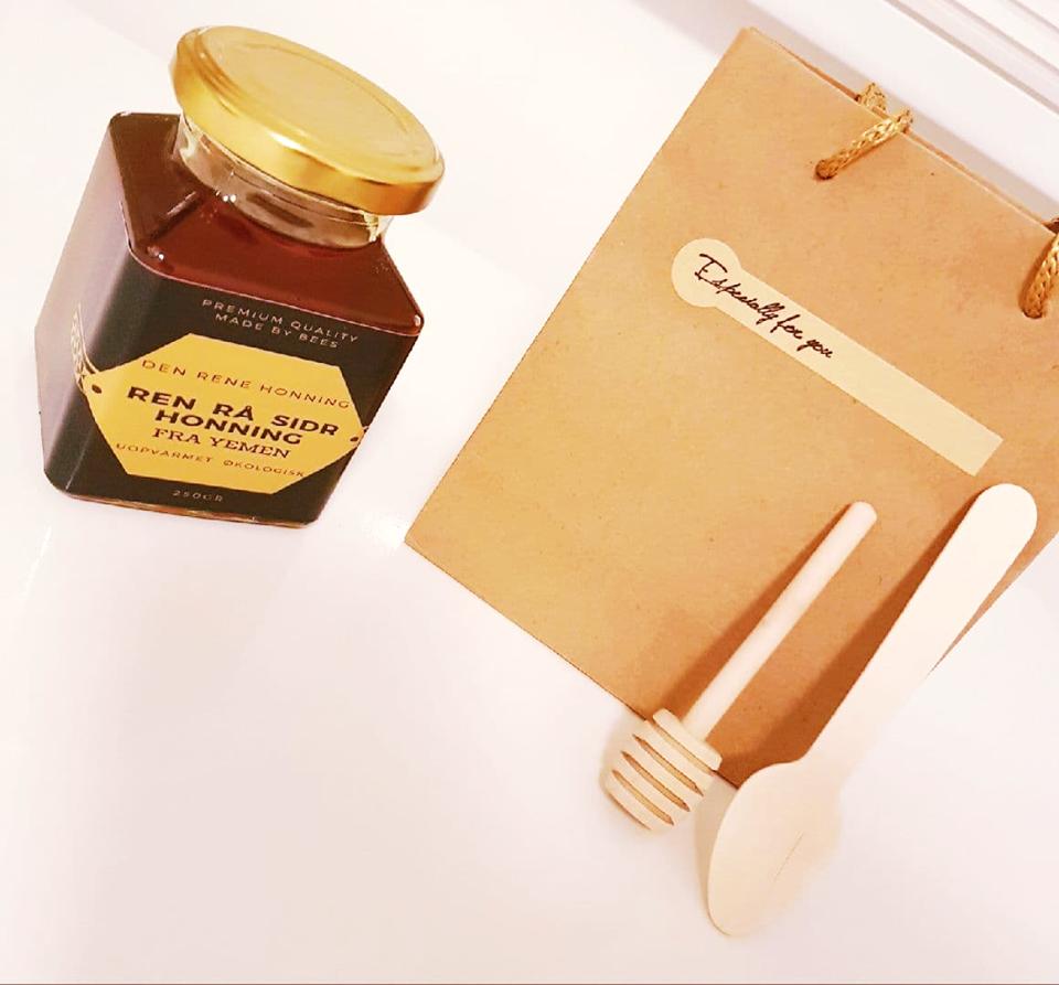 Ren og rå sidr honning